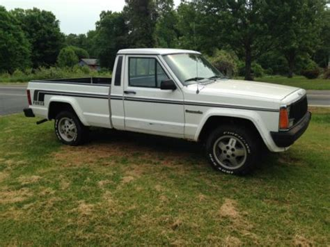 jeep comanche lowered find used 1987 jeep comanche base standard cab pickup 2