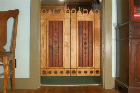 Handmade Wooden Doors - custom furniture doghouses beds gates and crates