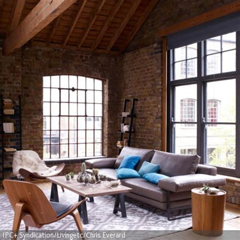 65 besten wohnen im industrie stil bilder auf - Modernes Industrie Wohnzimmer
