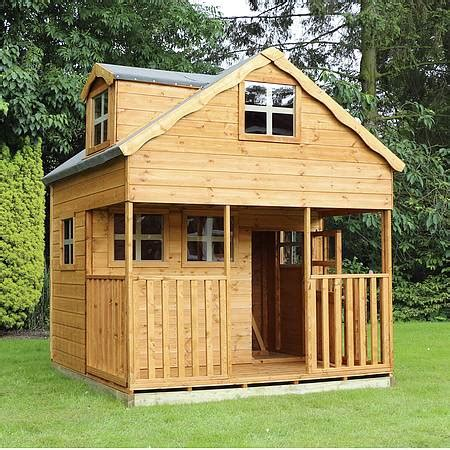 buy play house 7 x 7 waltons honeypot dormer apex wooden playhouse waltons sheds