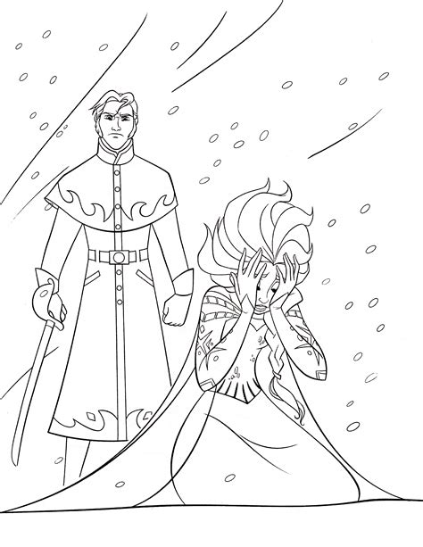 frozen coloring pages elsa free printable elsa coloring pages for best