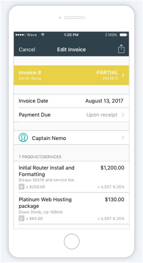 free invoice app for iphone hardhost info