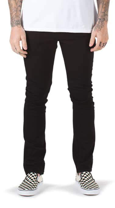 Vans Black Celana Denim Slimfit s denim at vans 174 slim fit