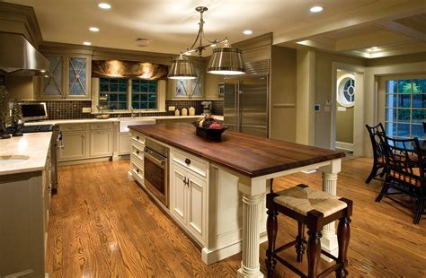 Traditional Kitchen Island by Traditional Kitchen With Charm And Polish Plain Amp Fancy