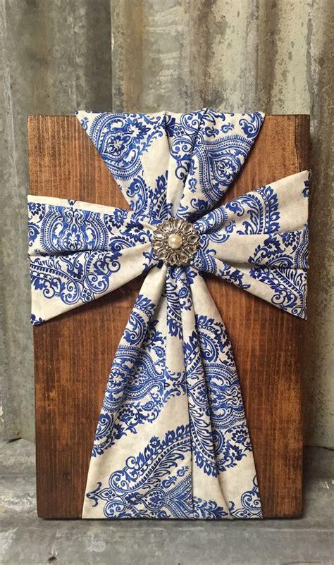 fabric crafts wood and fabric crafts wood and jennies burlap cross on