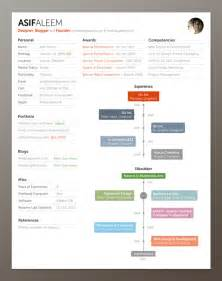 30 beautiful designer s one page resume sles the