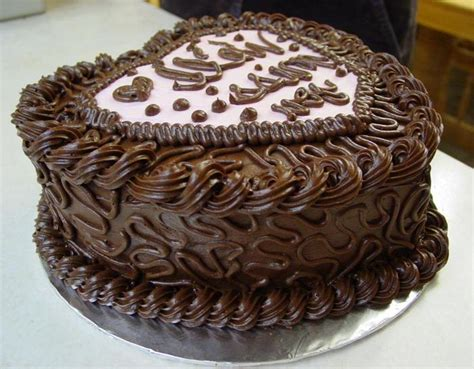 1950s Home Decorating Ideas by Chocolate Birthday Cake Decorating Ideas