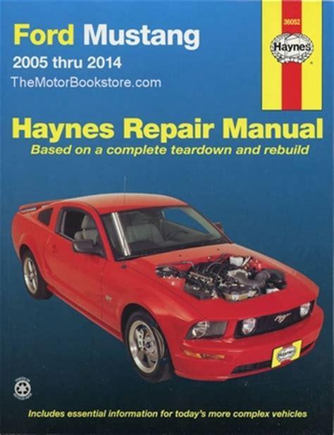 free auto repair manuals 1996 ford mustang transmission control ford mustang gt v6 v8 repair manual 2005 2014 haynes 36052