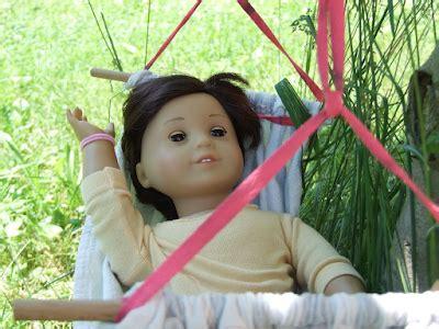 Doll Hammock by Diy Doll Hammock Tutorial June Dotm