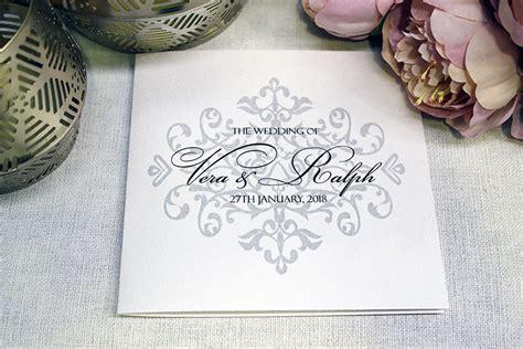 Ralph Wedding Invitations