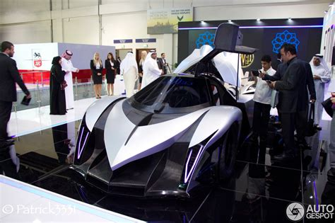 dubai motor show 2013 devel sixteen