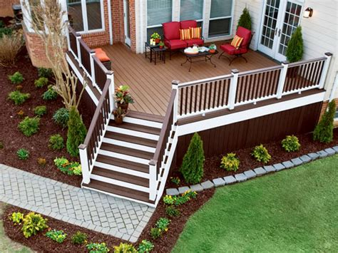 small front deck plans home design ideas