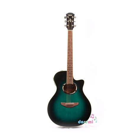 Harga Gitar Yamaha Electric jual yamaha electric acoustic guitar apx 500ii