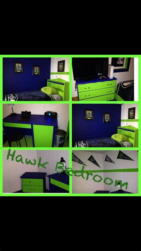 Seattle Seahawks Bedroom by 17 Best Images About Boys Room On Drop Cloth