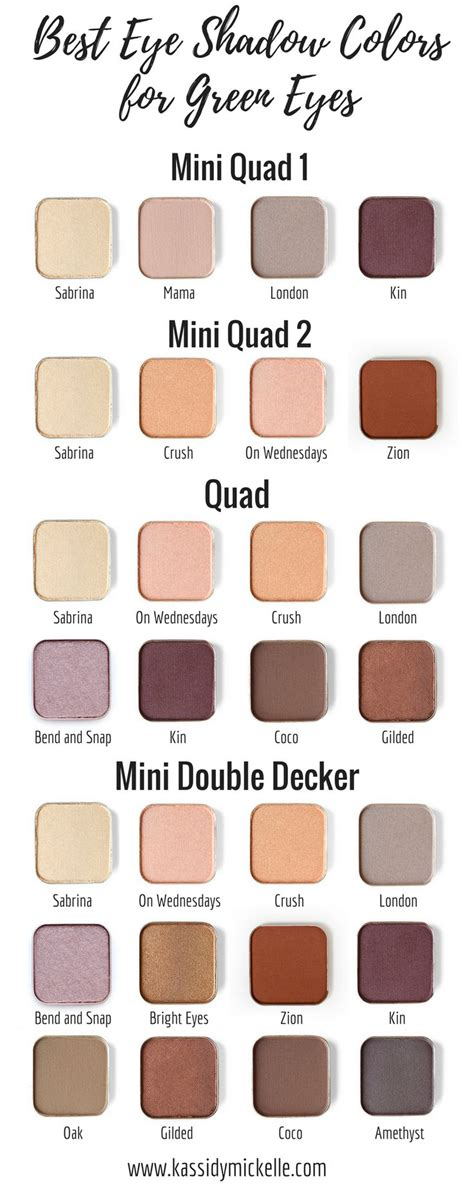 eyeshadow colors for green best 10 eye colors ideas on eye color