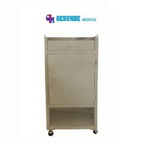 Cabinet Atas bedside cabinet steel stainless steel top layer toko