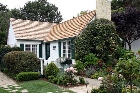 California Cottage by The Grant Wallace Cottage On Carmel S Historic Register