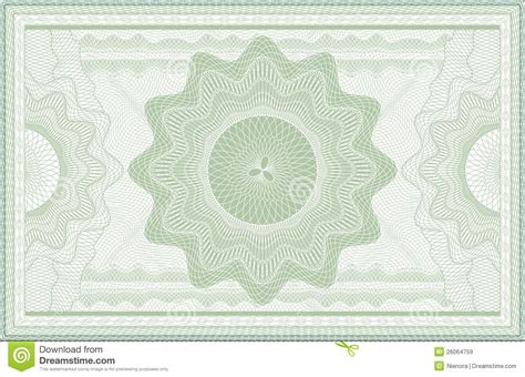 pattern on banknotes guilloche banknote stock vector image of elegance coupon