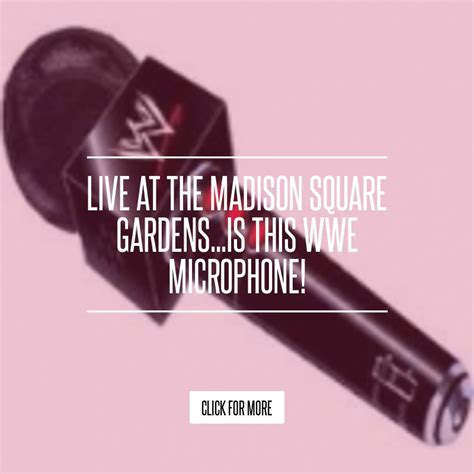 Live At The Square Gardensis This Microphone by Live At The Square Gardens Is This Microphone