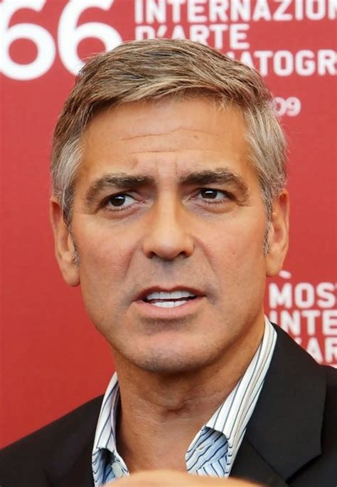 short hairstyles for men over 50 george clooney haircut popular short hairstyle for men