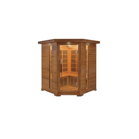 cabina a infrarossi clicson cabina sauna a raggi infrarossi luxe 3 4 posti