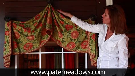 pull up pattern sewing pull up valance sewing pattern youtube