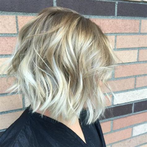 bob blonde balayage 60 messy bob hairstyles for your trendy casual looks