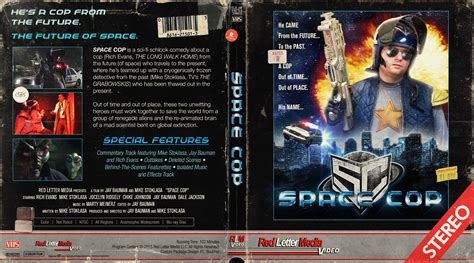 space cop blu ray cover by themadbutcher on deviantart