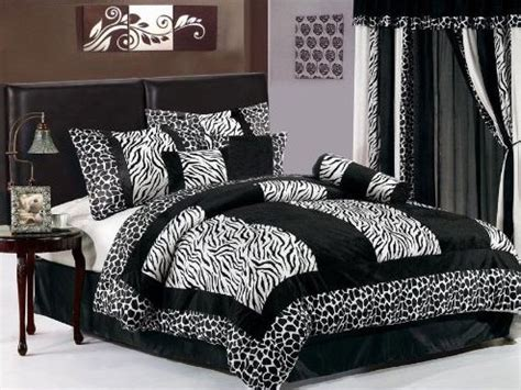 zebra bedroom decor  exotic gothic room interior fans