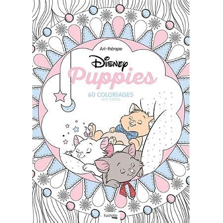 anti stress colouring book disney disney puppies 60 coloriages anti stress autres