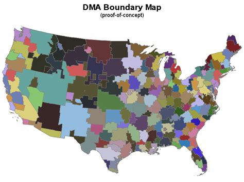 dma map d m a boundary map created using sas graph proc gmap