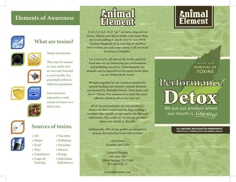 Animal Element Detox pin by animal element on animal element information