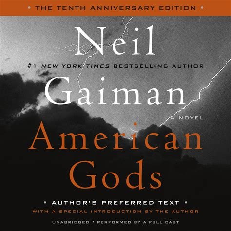 Pdf American Gods Tenth Anniversary Novel by American Gods Audiobook By Neil Gaiman For Just 5 95