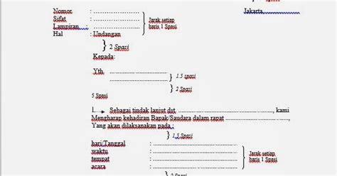 contoh surat undangan resmi dinas tips komputer