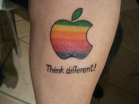 apple tattoo 100 cool apple tattoos