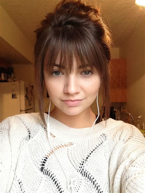 short whispy layers make me look bald 25 best ideas about bang haircuts on pinterest long