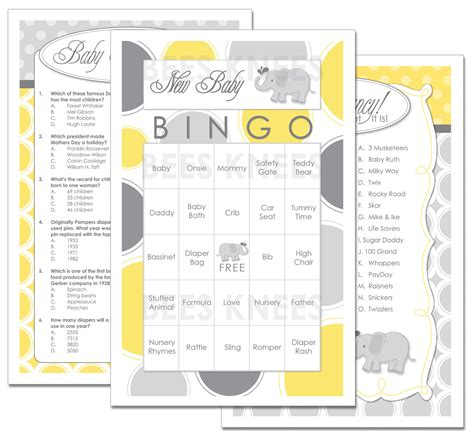 templates of baby shower games baby shower games templates free life style by