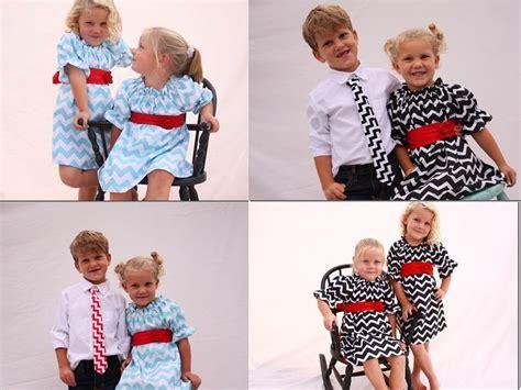 sibling matching handmade matching sibling dress and