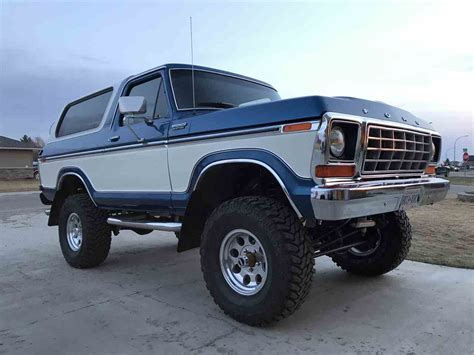 ford bronco for sale 1978 ford bronco for sale classiccars cc 992420
