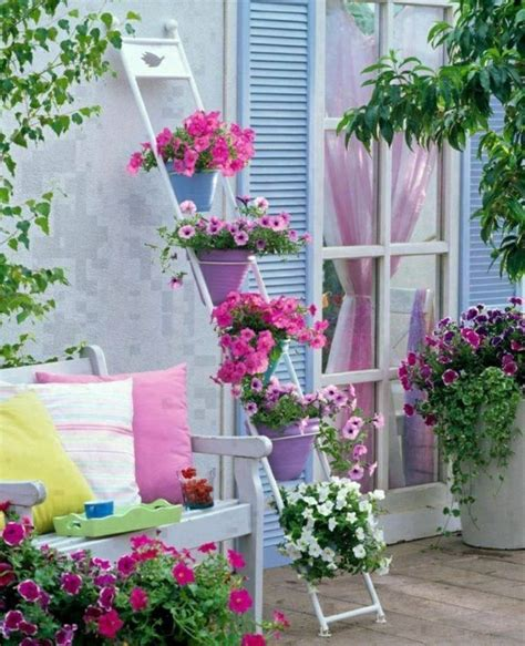 55 Balcony Greenery Ideas ? Choose flowers for balcony and