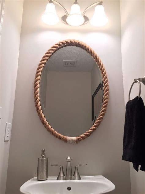 nautical bathroom mirrors 25 best ideas about rope mirror on pinterest nautical