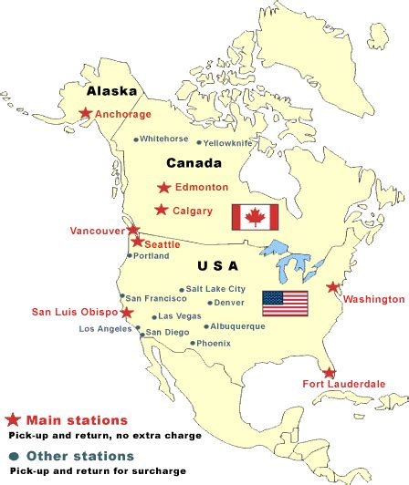 map of alaska canada and usa usa canada alaska map images