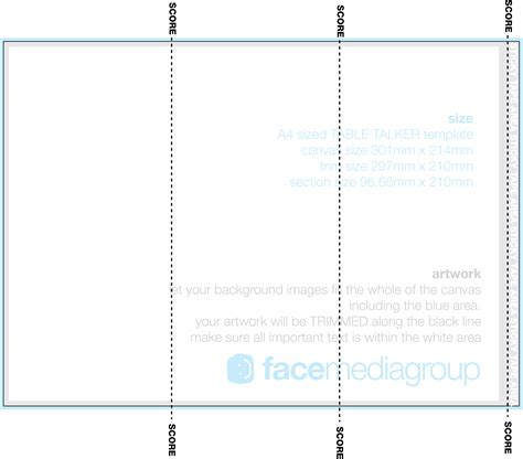 Table Tent Template Cyberuse Free Table Tent Template