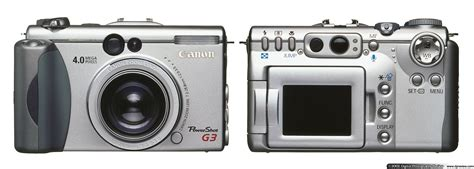 Canon G3 canon powershot g3 digital photography review