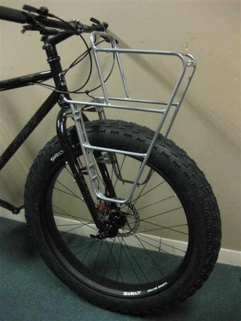 bicycle front rack suspension fork bicycle bike review