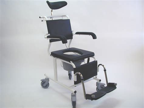 assistdata ergotip 3 reclining commode shower chair