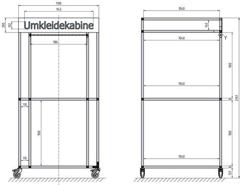cabine d essayage mobile construct vkf renzel sas