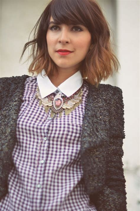 Short Ombre Hair With Bangs | short ombre hair and swept bangs going to do this