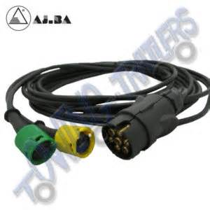 ajba yellow righthand replacement 6pin towing and