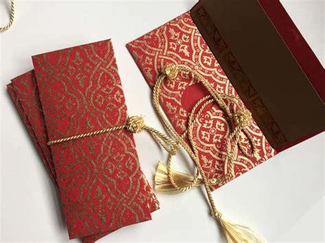 Wedding Box For Money Envelopes by Indian Wedding Invitation Blue Floral Money Envelope
